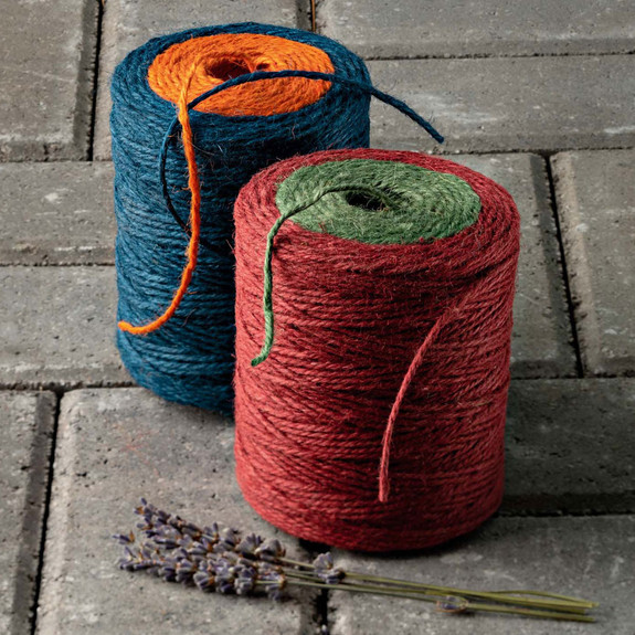 Dual Color Twine Red/Green and Blue/Orange