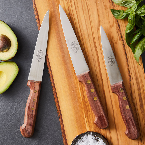 Vintage French Butcher's Knives (Set of 3)