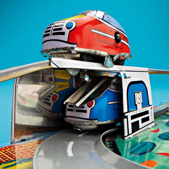 Windup Cars detail shot