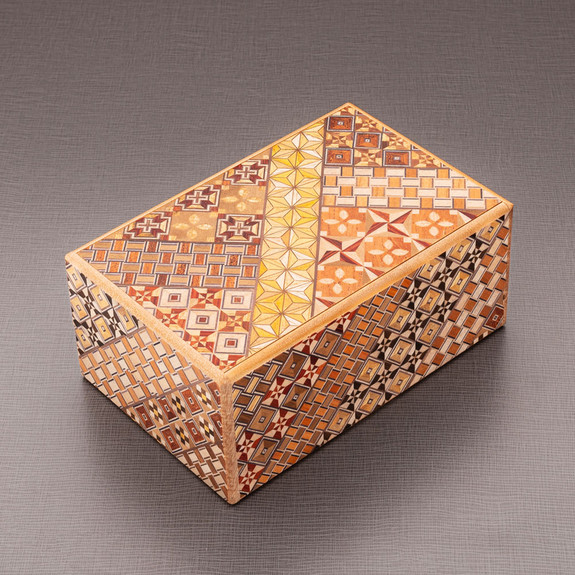 21-Step Secret Puzzle Box Made in Japan