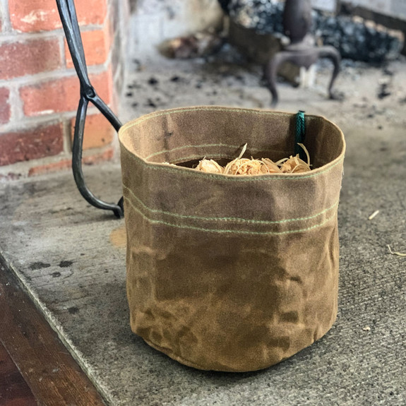 50 Firelighter w/ Waxed Bucket Kit
