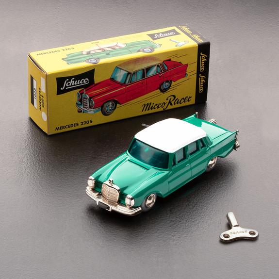 Vintage Schuco Micro Racer Mercedes 220S