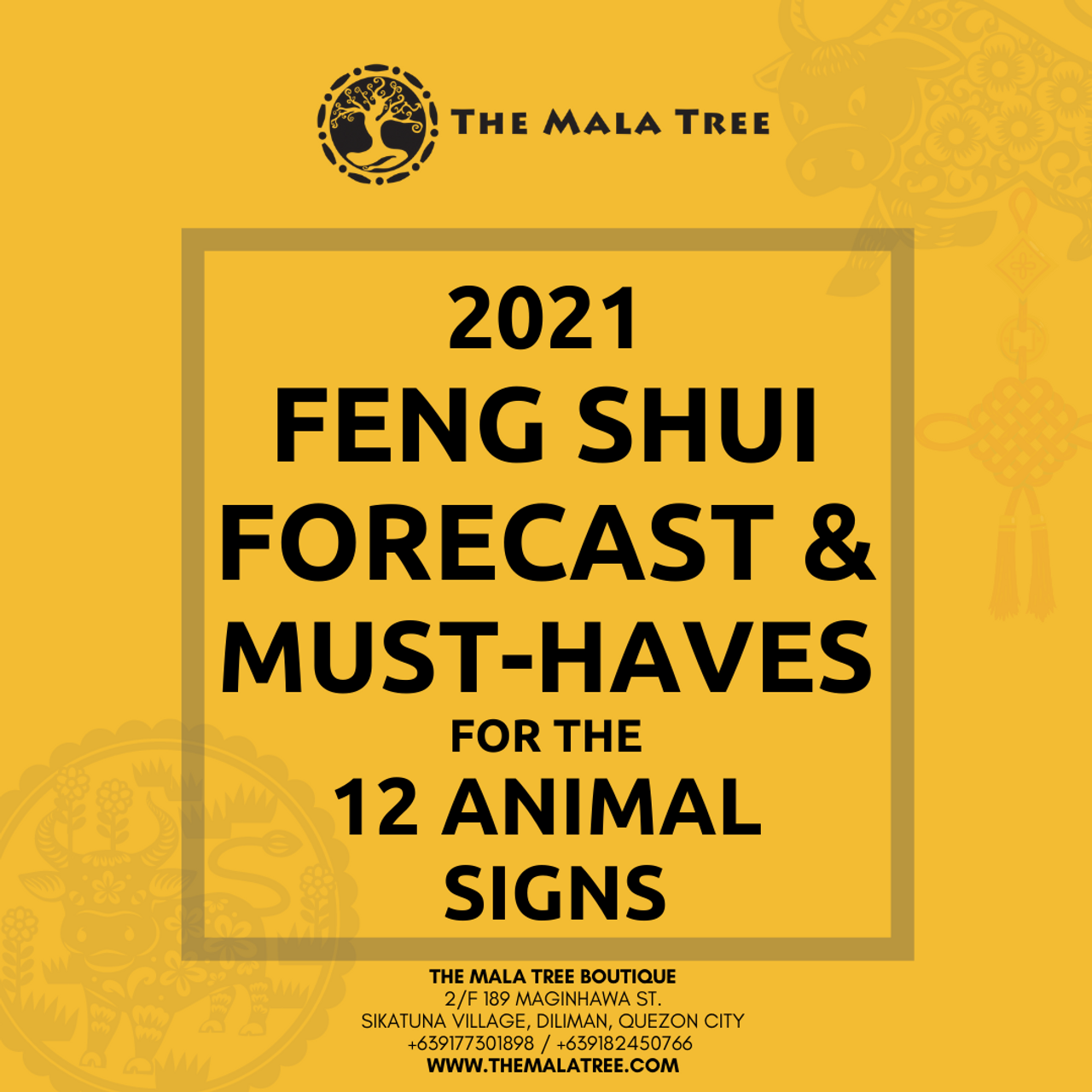 2021 FENG SHUI MUST-HAVES FOR THE 12 SIGNS