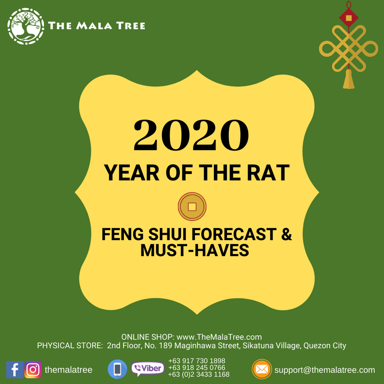 2020 FENG SHUI FORECAST & MUST-HAVES