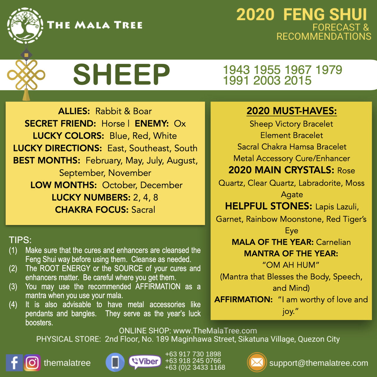 SHEEP in 2020