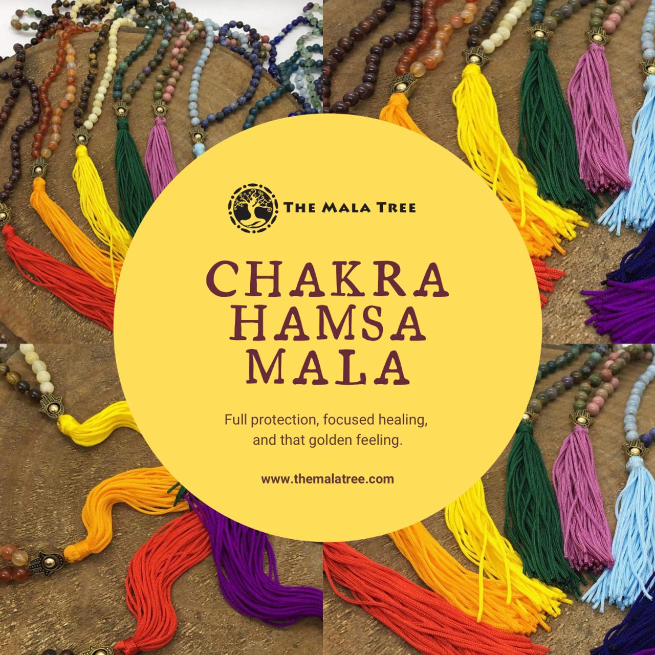 Chakra Hamsa Mala
