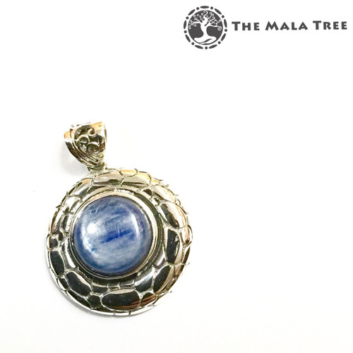 BLUE KYANITE Lux Pendant (Set in High Quality Silver)