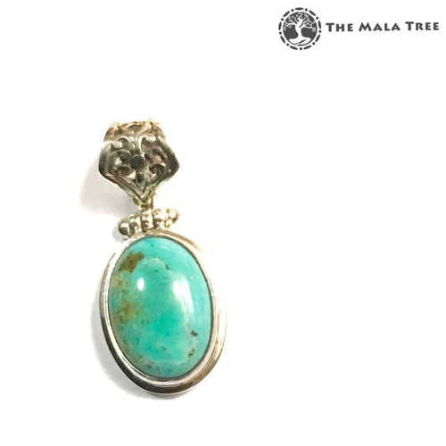TURQUOISE Lux Pendant (Set in High Quality Silver)
