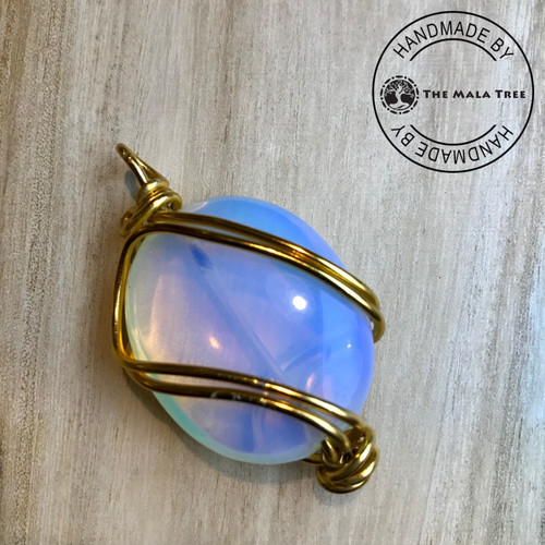 OPALITE Wire Wrapped Pendant (WRAG-00008)