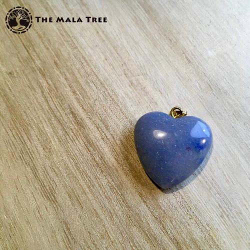 BLUE AVENTURINE HEART Pendant