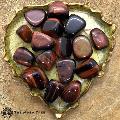 RED TIGER'S EYE Tumbled Stone