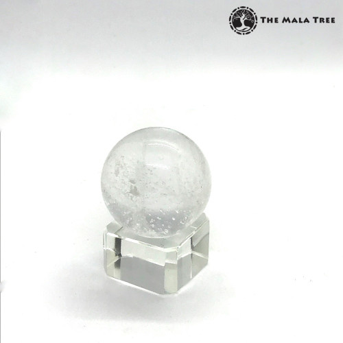 CLEAR QUARTZ Orb / Sphere
