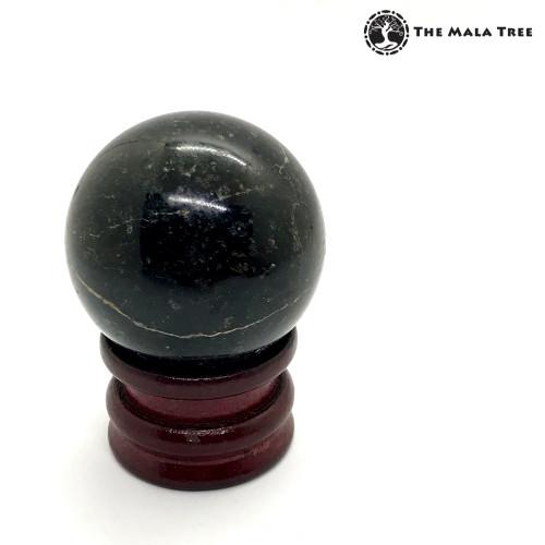 BLACK TOURMALINE Orb / Sphere