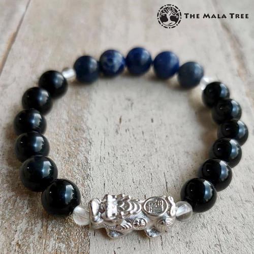 WOOD ELEMENT Piyao Bracelet (Silver)
