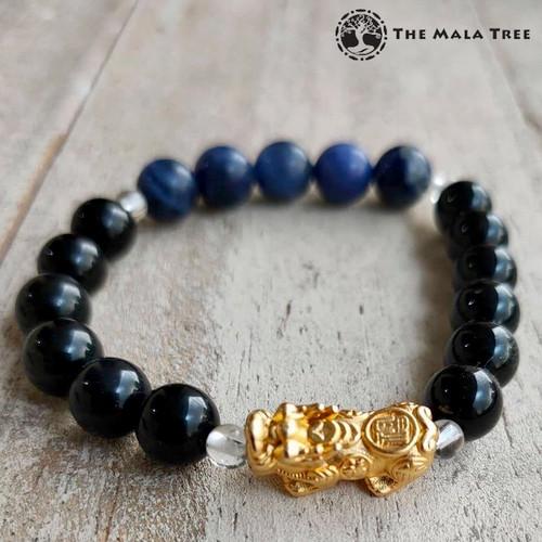WOOD ELEMENT Piyao Bracelet (Gold-Plated Silver)