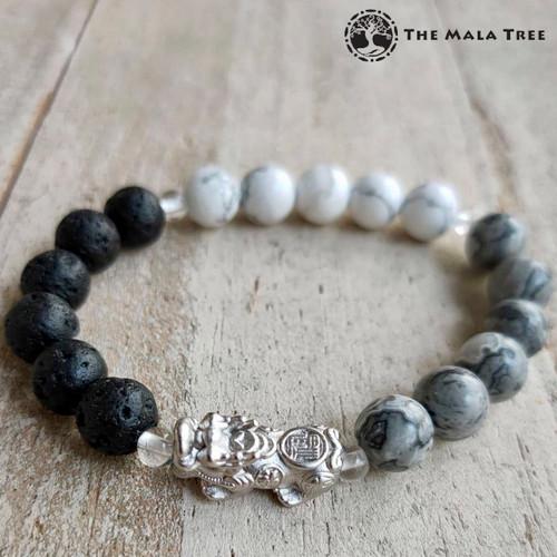 WATER ELEMENT Piyao Bracelet (Silver)