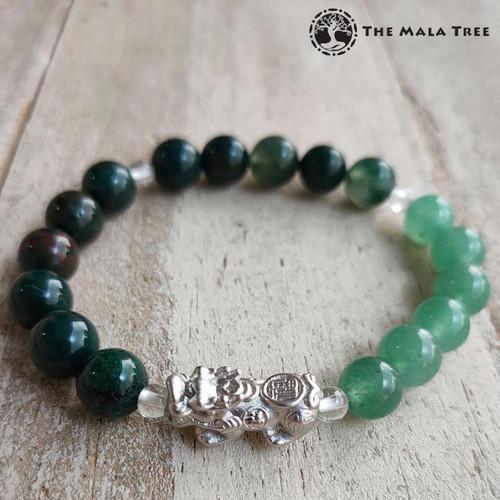 FIRE ELEMENT Piyao Bracelet (Silver)
