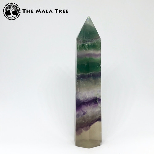 FLUORITE Crystal Point / Wand