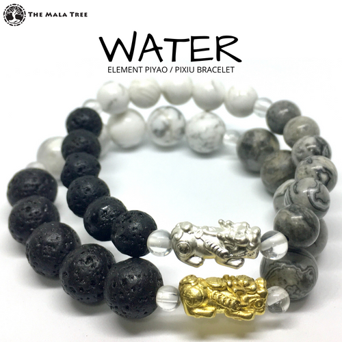 WATER ELEMENT Piyao / Pixiu Bracelet