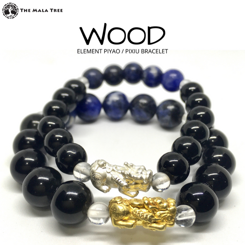 WOOD ELEMENT Piyao / Pixiu Bracelet
