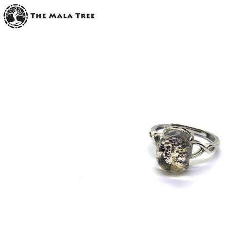 SUPER SEVEN SILVER Adjustable Silver Ring