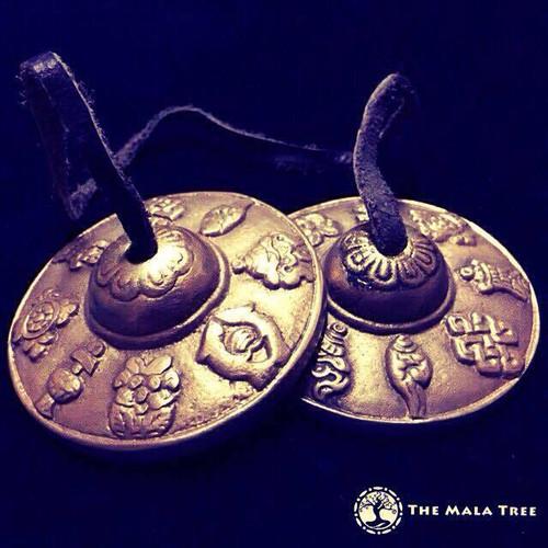 Tingsha Bells with 8 Auspicious Symbols