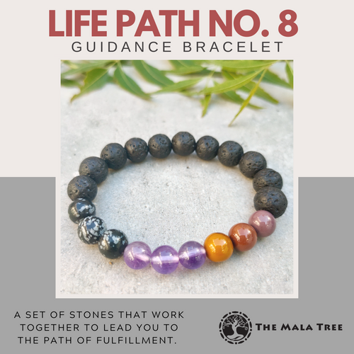 LIFE PATH NO. 8 Guidance Bracelet