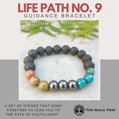 LIFE PATH NO. 9 Guidance Bracelet