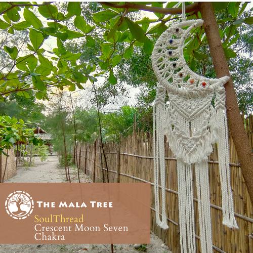 SoulThread Crescent Moon Seven Chakra