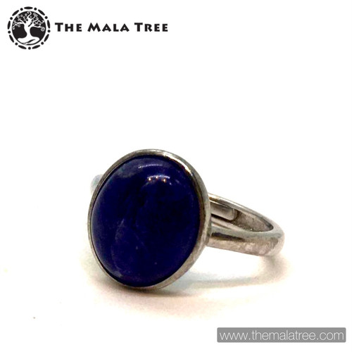 SODALITE Ring Set in Silver #2