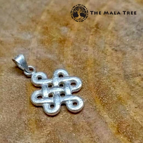 Mystic Knot Silver Pendant (Handmade with High Quality Silver)