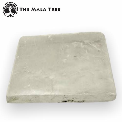 Selenite Square Charging Plate