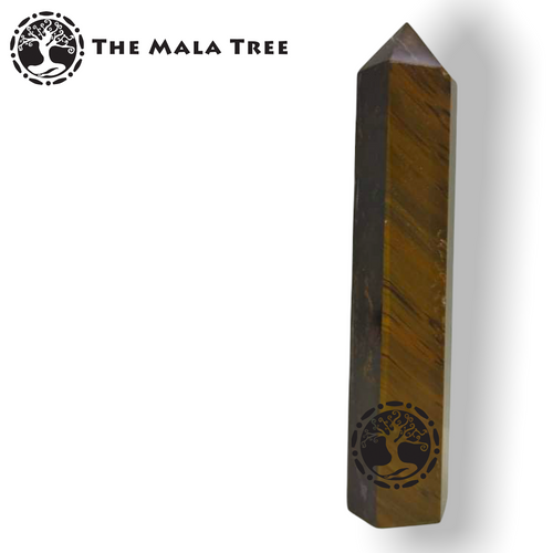 GOLD TIGERS EYE Crystal Point / Generator / Wand