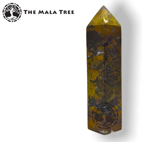 PYRITE Crystal Point / Generator / Wand