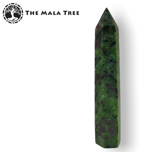 ANYOLITE (RUBY IN ZOISITE) Crystal Point / Generator / Wand