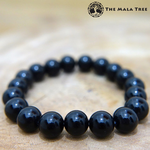 BLACK TOURMALINE (High Quality) Bracelet