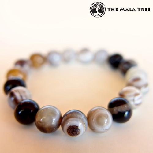 BOTSWANA AGATE (High Quality) Bracelet