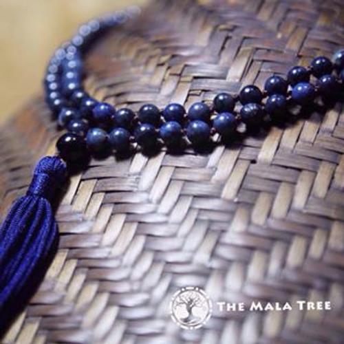 DUMORTIERITE Classic 108 Japa Mala