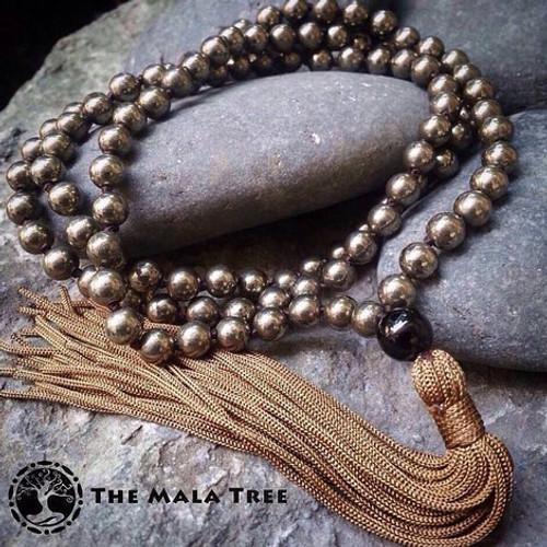 PYRITE Classic 108 Japa Mala