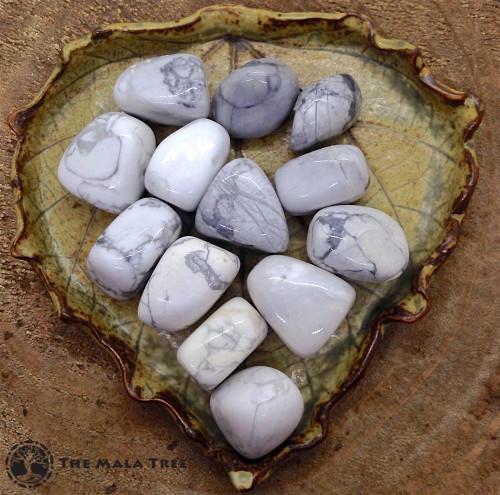 HOWLITE Tumbled Stone