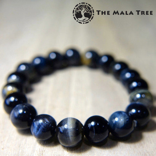 BLUE-BLACK TIGER'S EYE Bracelet