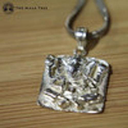 Ganesh Square Pendant