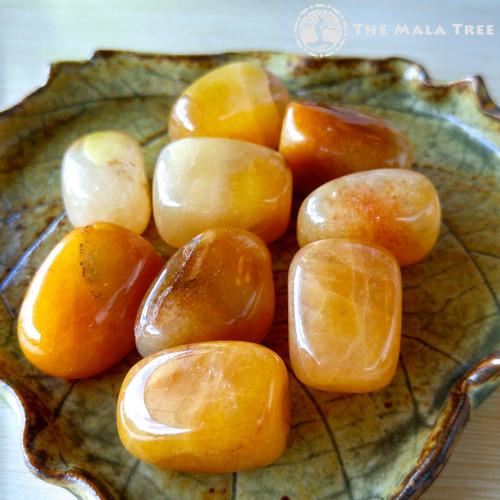 YELLOW AVENTURINE Tumbled Stone