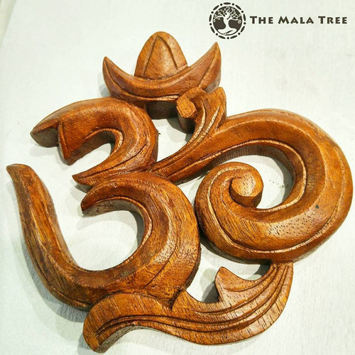 WOODEN OM Symbol Decor (Handcarved, Limited Stocks)