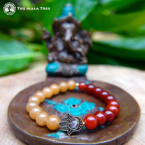 THE SACRAL CHAKRA HAMSA Bracelet