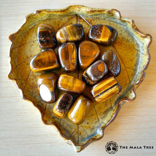 GOLD TIGER'S EYE Tumbled Stone