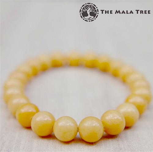 YELLOW ARAGONITE Bracelet