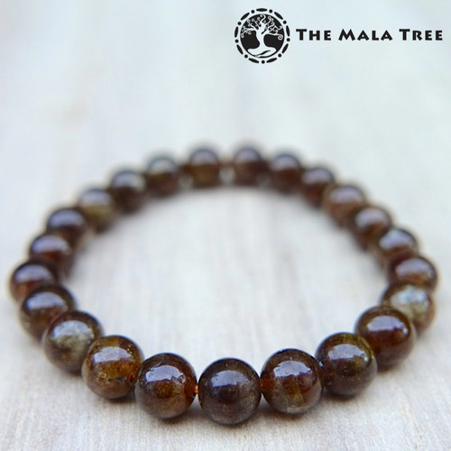 BROWN GARNET / Mali Brown Garnet Bracelet