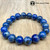 """10mm Lapis Lazuli. Note:  High-quality lapis lazuli is available, too.  Please USE the search function of the  website and type """"Lapis Lazuli"""" and all Lapis Lazuli products will show. Thanks."""