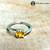 CITRINE Ring Set in Silver